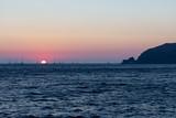 Coucher de Soleil sur l'île de Santorin dans les Cyclades Grecques - 217516043