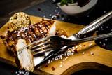 Grilled chicken fillet and vegetables - 217517893