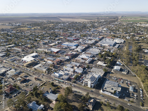 The Queensland town of Dalby. - 217518616