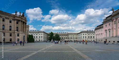 Canvas Berlijn Bebelplatz in Berlin