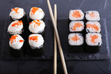 Traditional Japanese food close up - 217541415