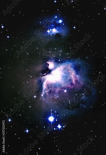 Aluminium Heelal Orion Nebula