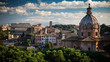 Quadro Roman skyline