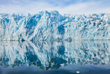 glaciers melting in Antarctica, beautiful ice landscape with reflection, beauty of nature - 217569024