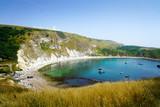 Durdle Door, Dorset in UK, Jurassic Coast World Heritage Site - 217572229
