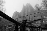 Le Mont St-Michel sous le brouillard