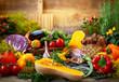 Leinwanddruck Bild - Assorted fresh vegetables
