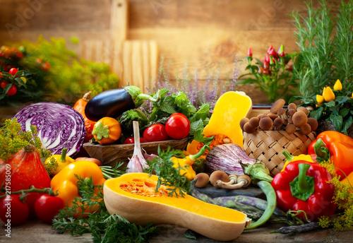 Assorted fresh vegetables - 217585009