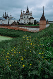 Authentic old Russian town Yuryev-Polsky. - 217591653