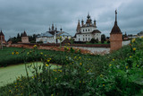 Authentic old Russian town Yuryev-Polsky. - 217591659