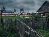 Authentic old Russian town Yuryev-Polsky. - 217591668