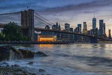 Brooklyn Bridge from Dumbo, Study 2 © Randy