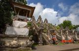 Dragon statue on the entrance way inside of Pura Lempuyang temple near Agung volcano,Bali, Indonesia