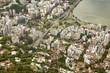 Quadro Aerial view of Rio de Janeiro, Brazil