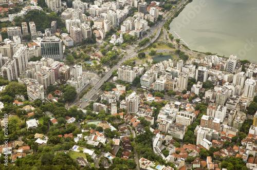 Plexiglas Rio de Janeiro Aerial view of Rio de Janeiro, Brazil