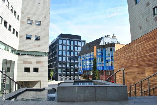 fototapeta na ścianę Nowoczesna dzielnica Wrocławia