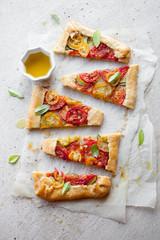 Tomato galette © Kati Finell
