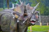 Dinosaur model Triceratops