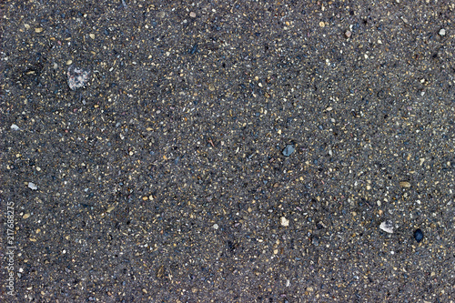 In de dag Stenen wet asphalt background