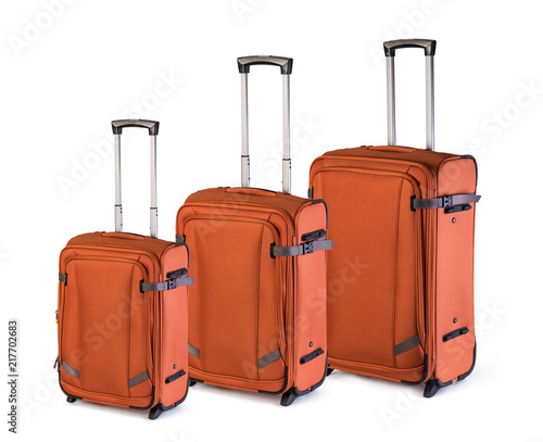 Foto Murales suitcases