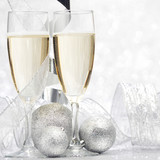 Champagne and decor - 217703686