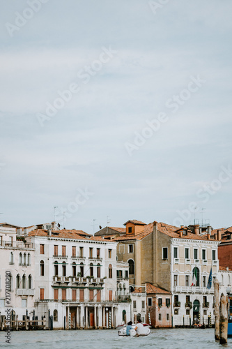 Along the Grand Canal, Venice - 217708290
