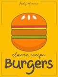 Burgers poster - 217713839