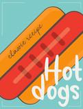 Hot Dog Poster - 217713867