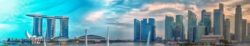 Singapore skyline panorama - 217719675