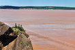 Fundy bay at low tide, Canada