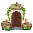 The door to the pub - 217733404