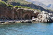 Quadro La réserve naturelle du Zingaro en Sicile