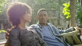 Young happy black couple outdoors - 217741271