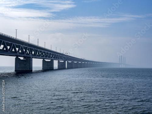 Most Öresund między Kopenhagą a Malmö, Szwecja, Europa