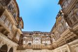Mehrangarh fort at Jodhpur, Rajasthan, India. An UNESCO World heritage. - 217755231