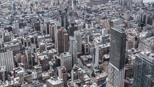 Foto Murales Cityscape of Midtown Manhattan, New York City