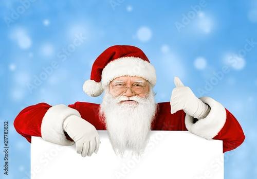 Leinwanddruck Bild Santa.