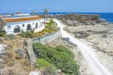 Landschaft am Strand von kalithea therme