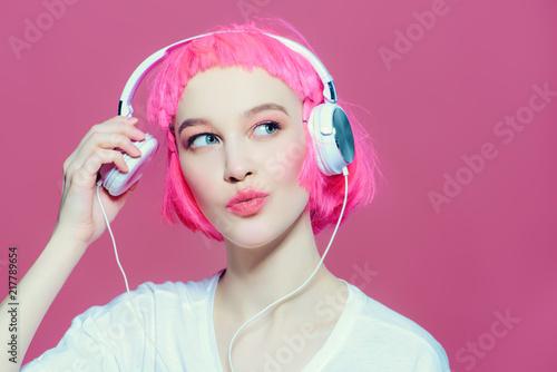 very loud music