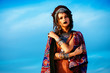 gypsy against sky