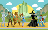 wizard of oz characters - 217792450