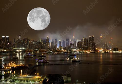 Foto Murales The New York City Skyline