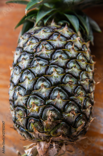 Foto Spatwand Thailand Pineapple on the table