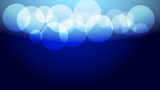 Abstract blue light and shade creative bokeh background. Vector illustration. - 217817222
