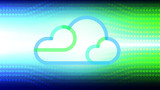 Cloud computing technology concept abstract background. Vector illustration. - 217817407