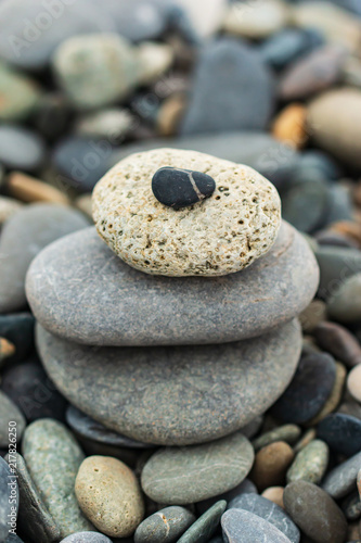 different stones as background - 217826250