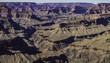 panorama of the Colorado river winding through the Grand Canyon