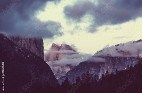 Leinwanddruck Bild Yosemite