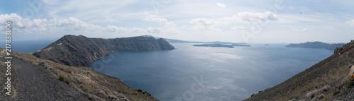 Foto Murales Panorama of uninhabited desert Islands