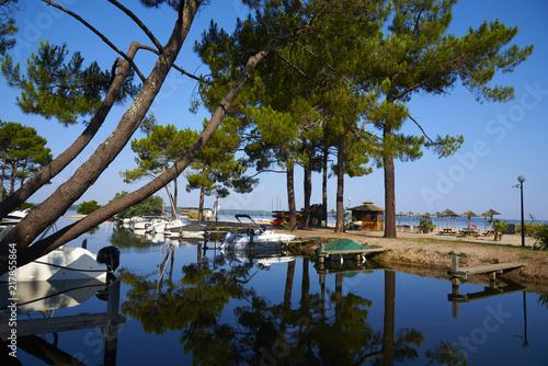 Foto Murales marina lac de biscarosse